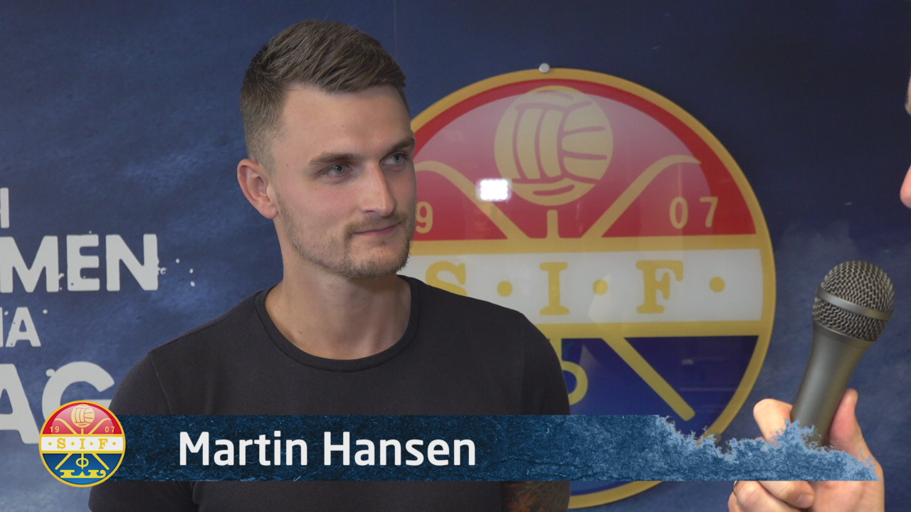 Martin Hansen klar for SIF